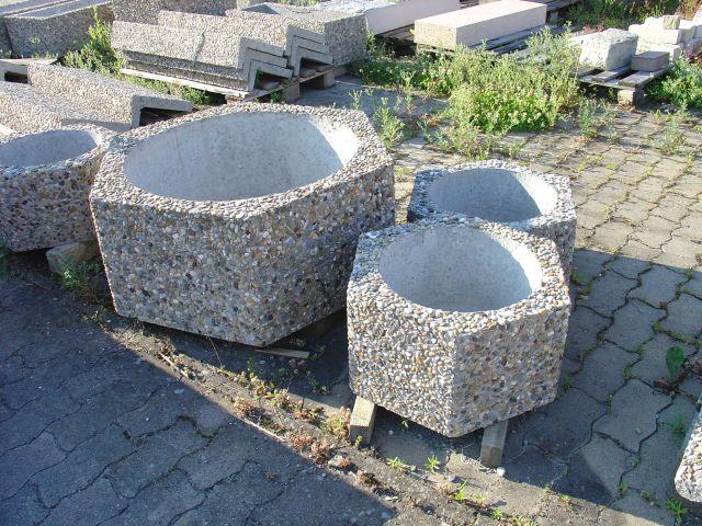 Pflanzkübel Waschbeton.изделия из камня и бетона г иркутск